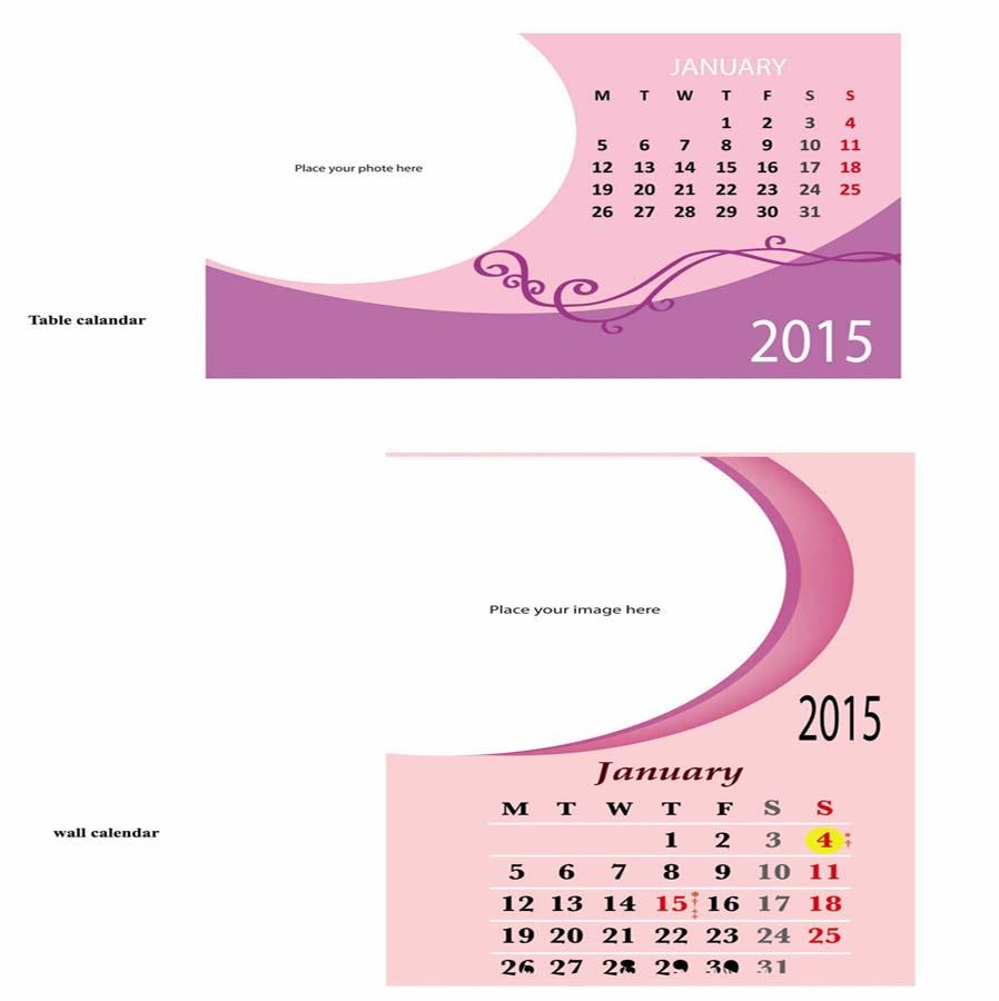 Baby Calendar Design : Baby calendar design for a company by manohari