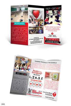 Brochure Design by  Esolbiz - CPR in Schools