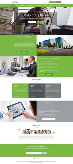 Web Design by Zarr Tech - eBridge Web Site