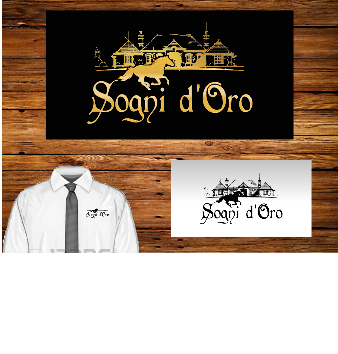 Professional, Elegant, Business Logo Design for Sogni d'Oro