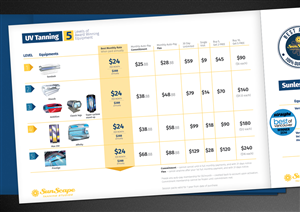 Brochure Design by emerzence - Design a new pricing menu