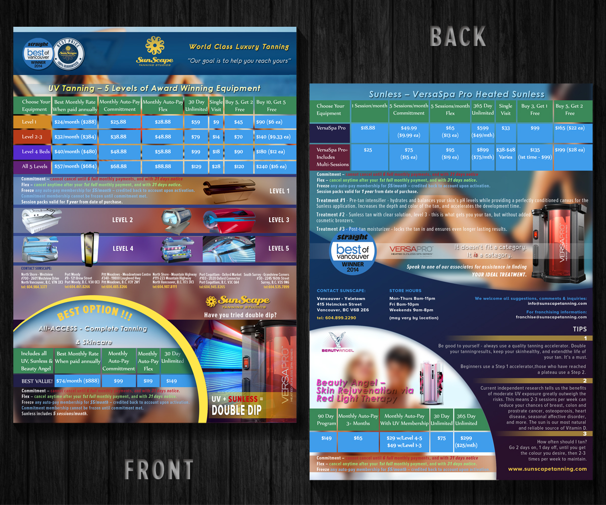 pricing brochure design for a company by j p art design 5271411