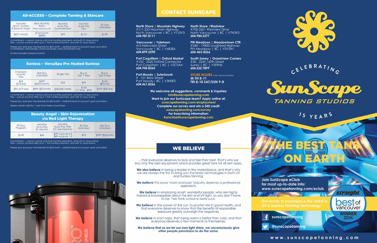 pricing brochure design for a company by barinix design 5248407