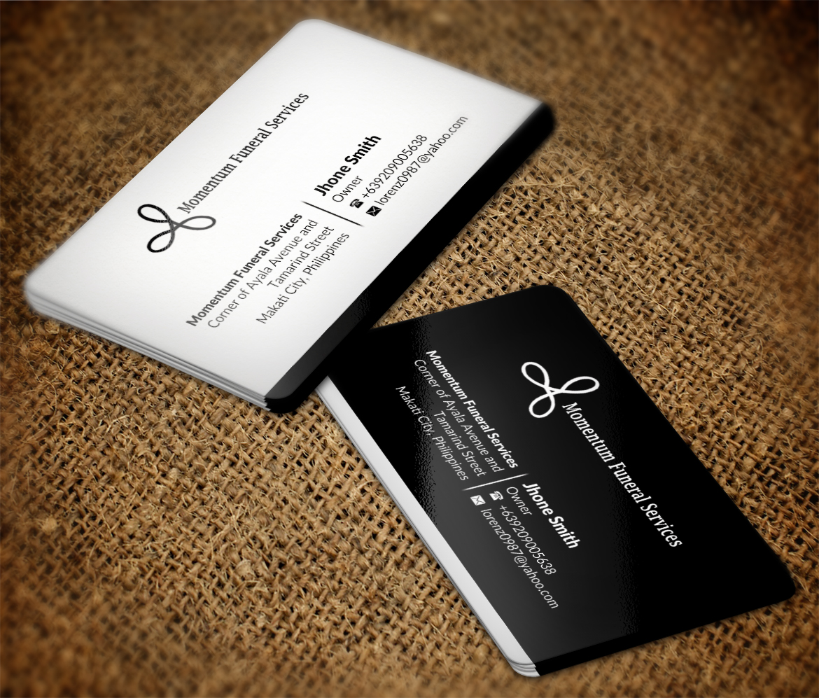 Traditional, Upmarket, Business Business Card Design for DesignCrowd ...
