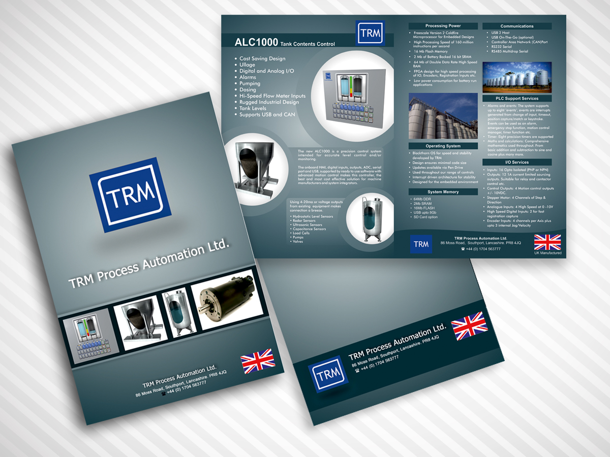 Modern professional brochure design for stephen haughton for Professional brochure design templates
