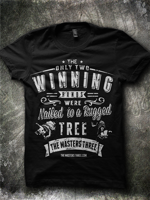 shirt design for two winning hands t shirt by jonya
