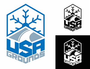 snow logo design galleries for inspiration