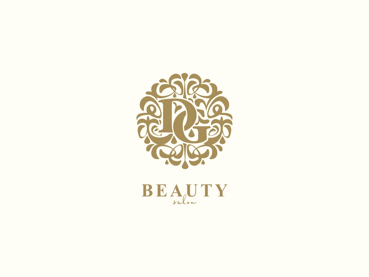 Modern, Feminine, Beauty Salon Logo Design for DG Beauty ...