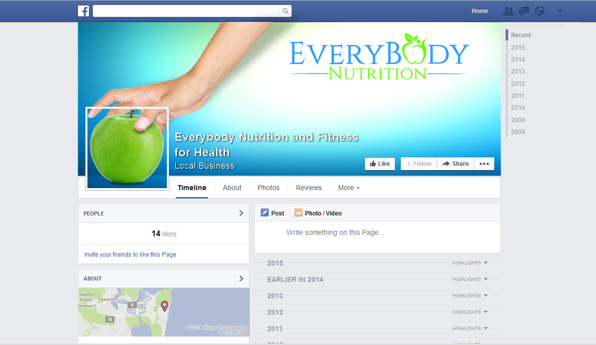 Professional, Upmarket, Business Facebook Design for