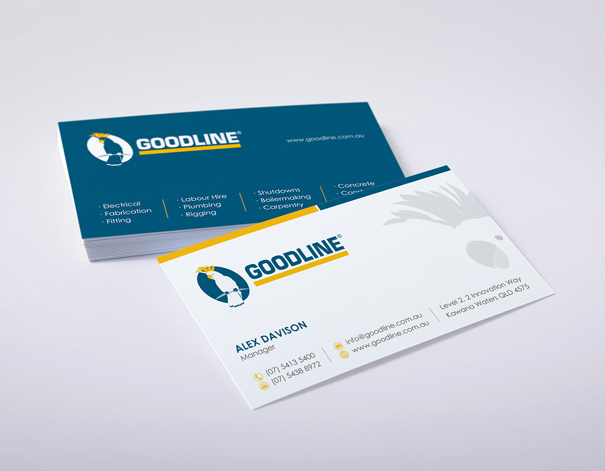Serious conservative stationery design for goodline by stationery design by logodentity for email signature and business card design 5236231 magicingreecefo Image collections