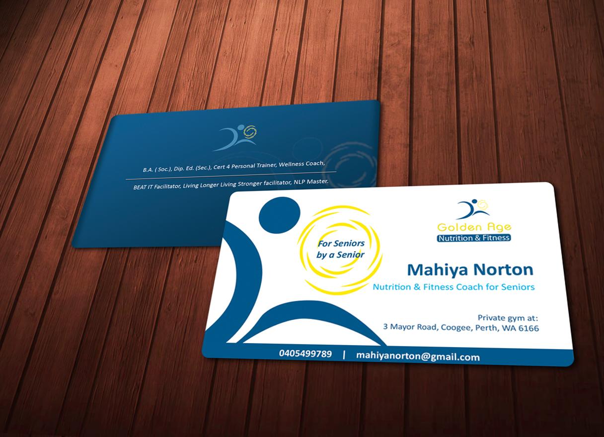 28 business card designs nutrition business card design project business card design by chere for this project design 1473572 colourmoves