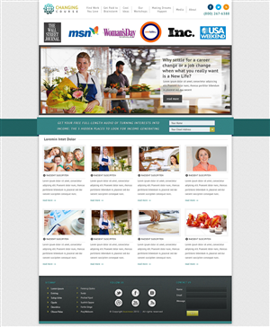 Wordpress Design by tinthumb - Wordpress Design for business coaching site