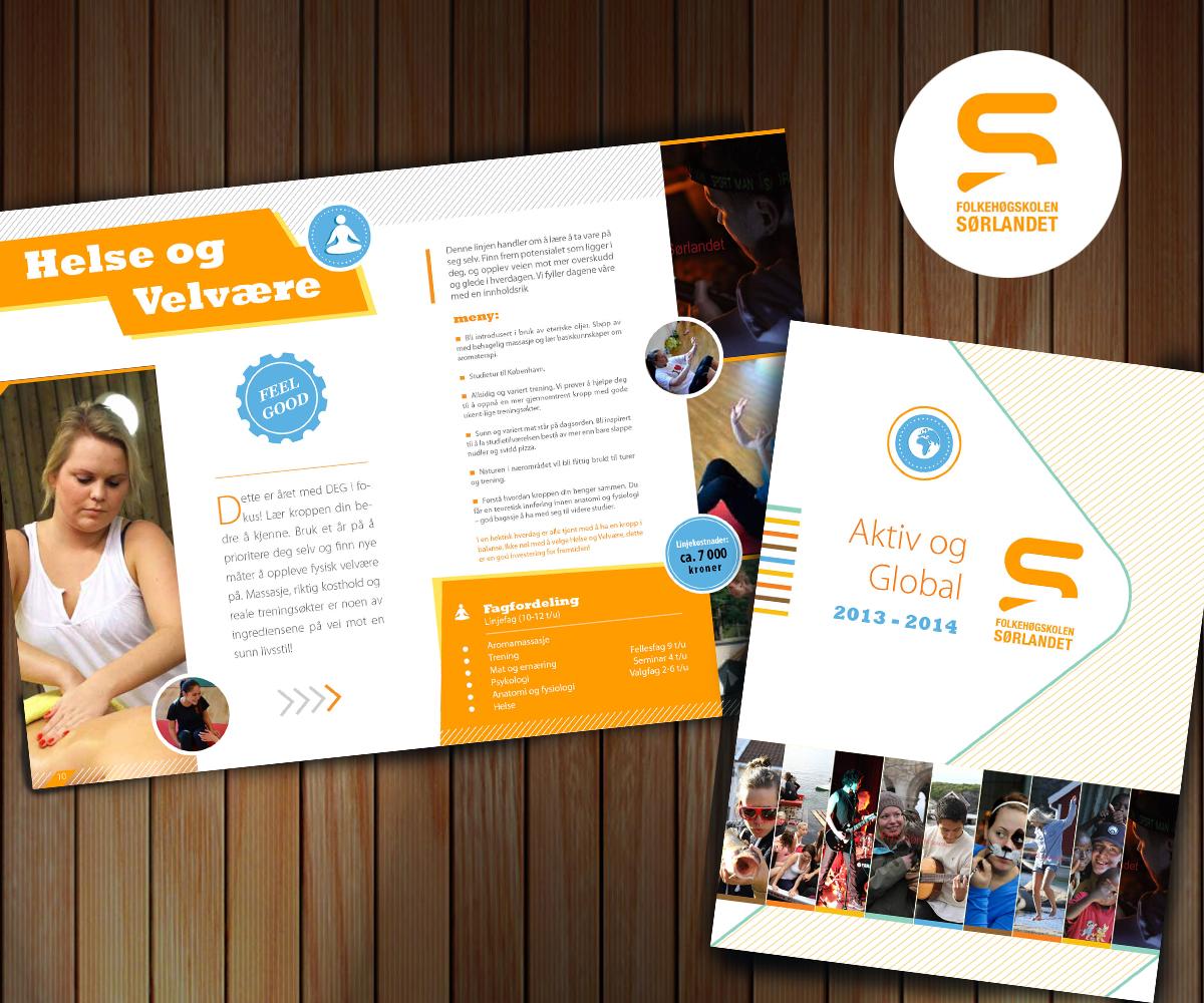 college brochure design ideas - school brochure design for a company by ulverz design