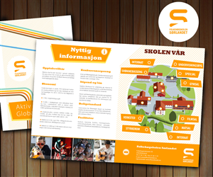 School Brochure Design Quotes S Of School Brochure Design - High school brochure template