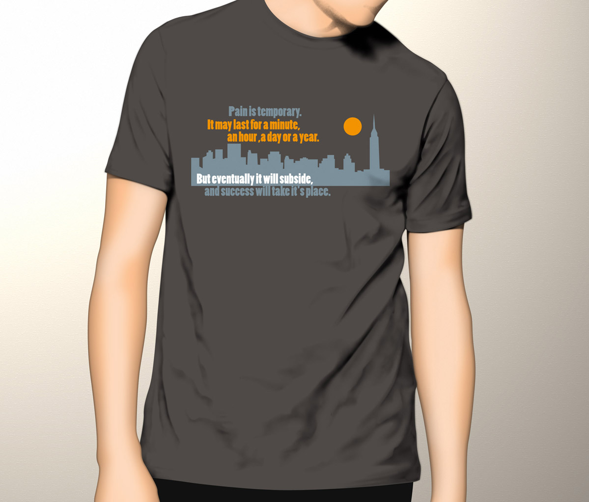 Upmarket Bold Clothing T Shirt Design For A Company By