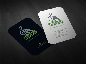 Music Business Card Design Galleries for Inspiration