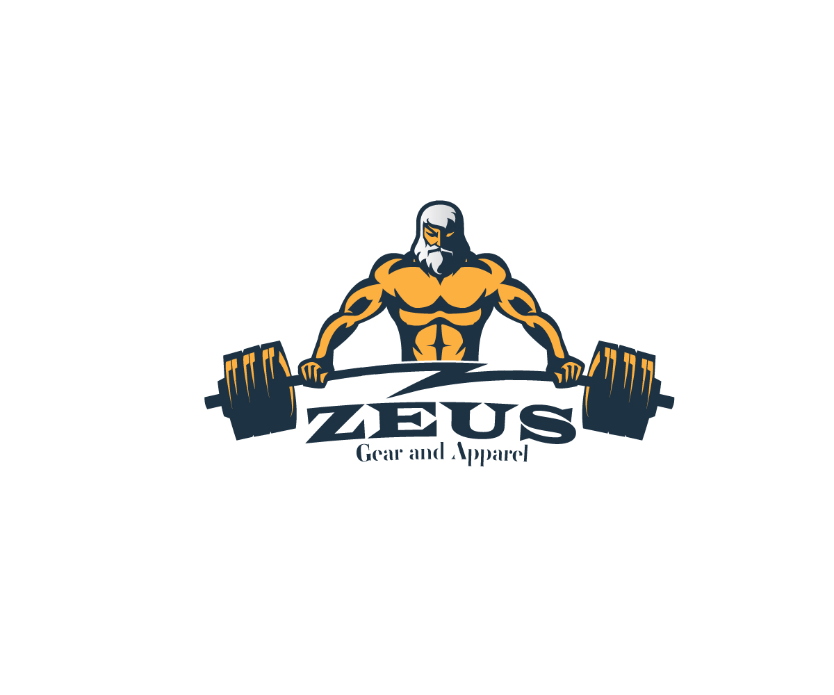 48 Masculine Professional Fitness Logo Designs for Zeus ...
