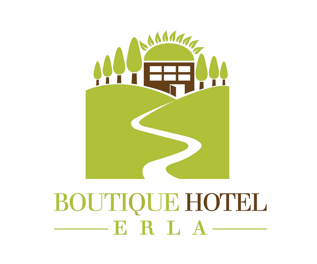 Hotel logo design for boutique hotel erla by for Hotel logo design