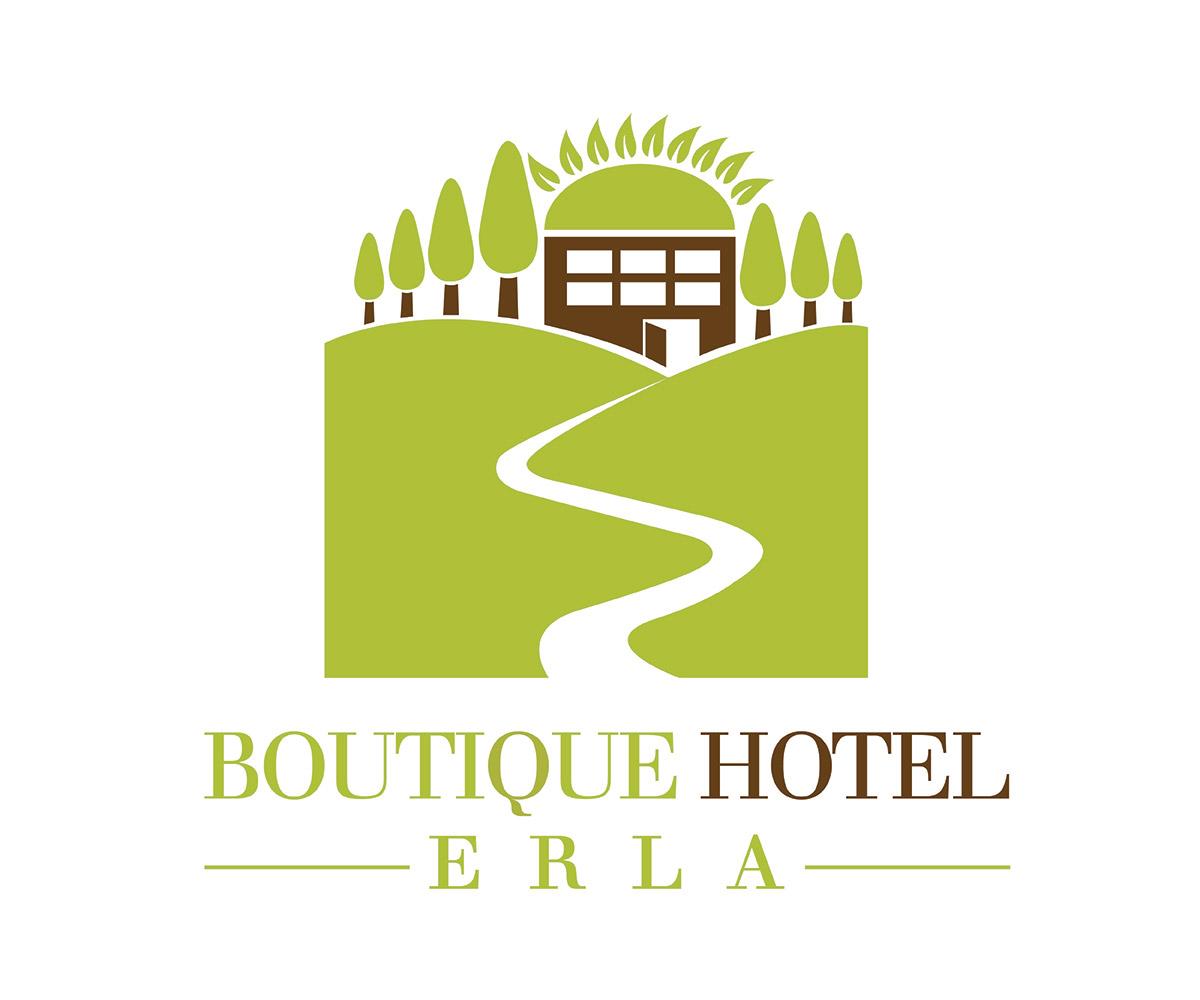 Hotel Logo Design For Boutique Hotel Erla By