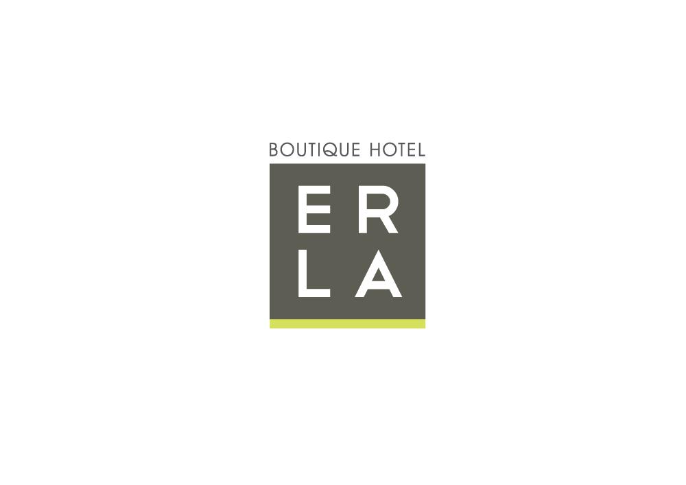 Hotel Logo Design for Boutique Hotel Erla by Nigel B | Design #5255840