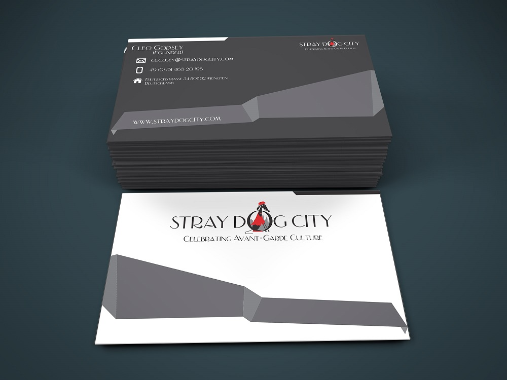 Business Card Design for Stray Dog City by Racer | Design #5299803