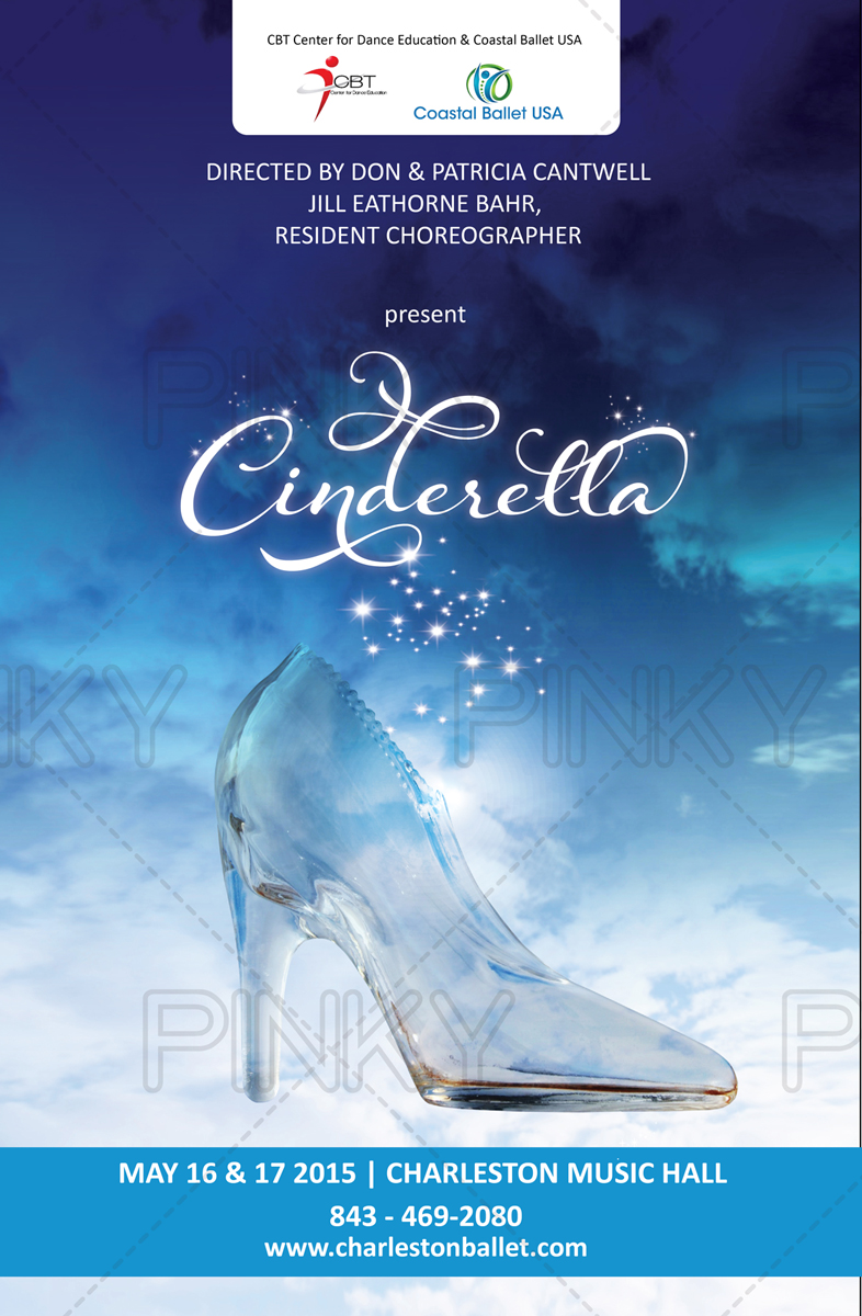 Poster design questionnaire - Poster Design By Pinky For Coastal Ballet Usa S Cinderella Design 5289208