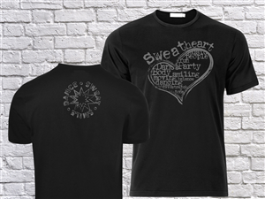 T-shirt Design by SSDD - Dance Sweat Smile t-shirt