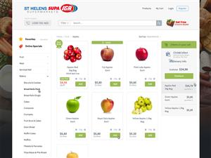 Web Design by next1 - Review/Re-Design Supermarket E-Commerce website