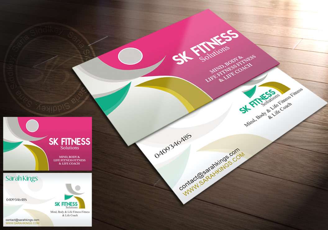 26 Professional Fitness Business Card Designs for a Fitness ...