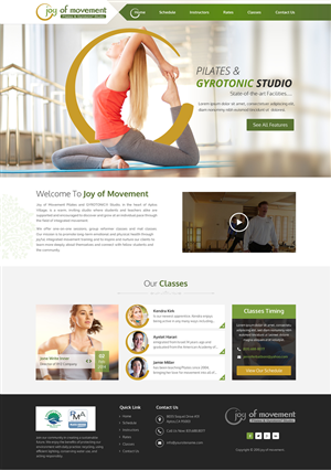 Fitness Web Design Galleries for Inspiration