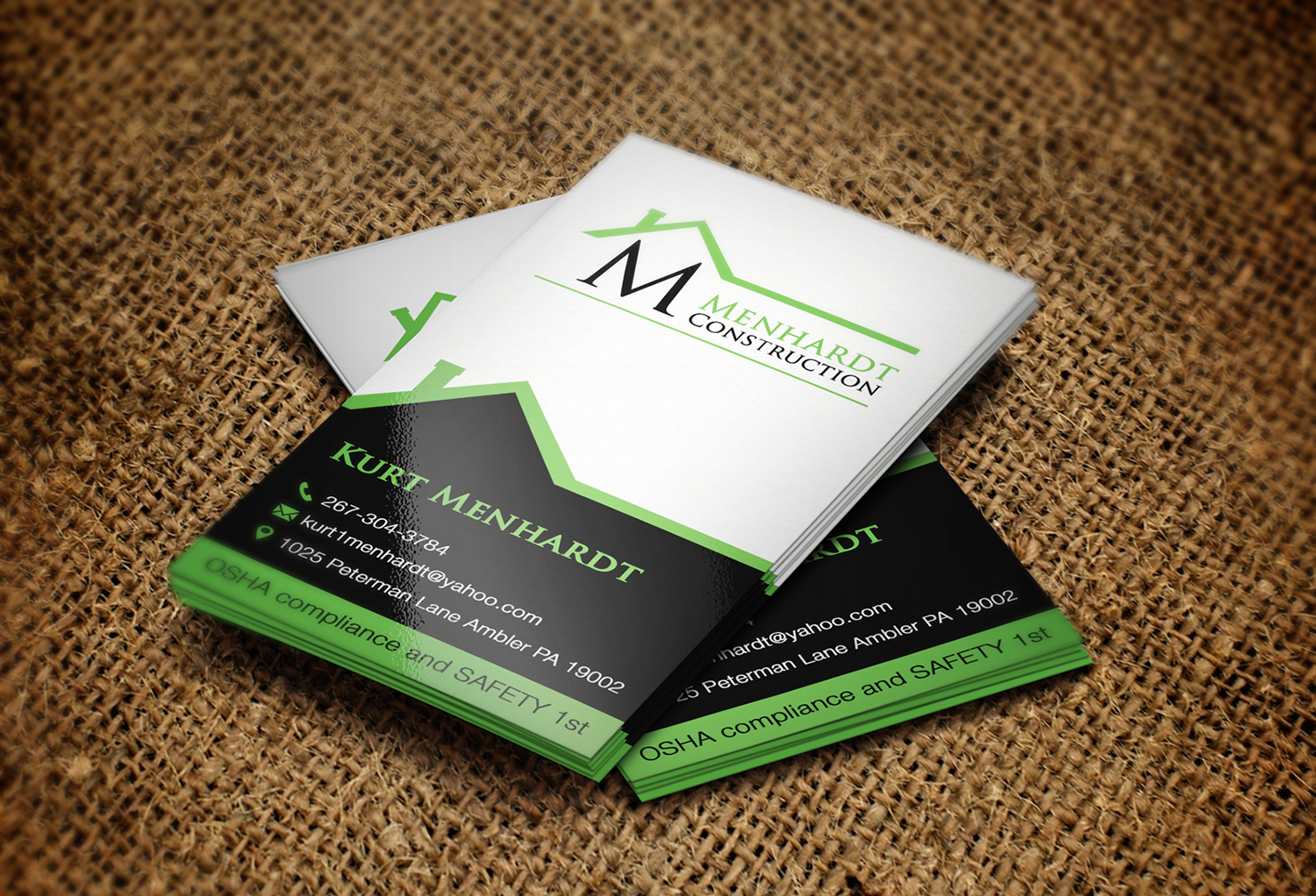 Residential Business Card Design for a Company by Creation Lanka ...