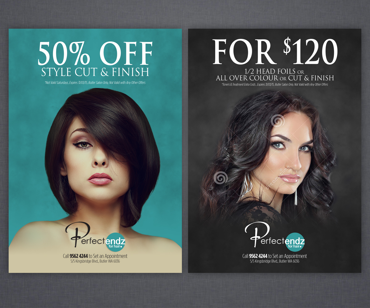 Salon Flyer Design Galleries for Inspiration