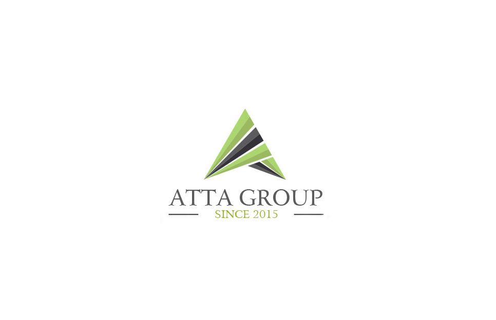 serious modern architecture logo design for atta group