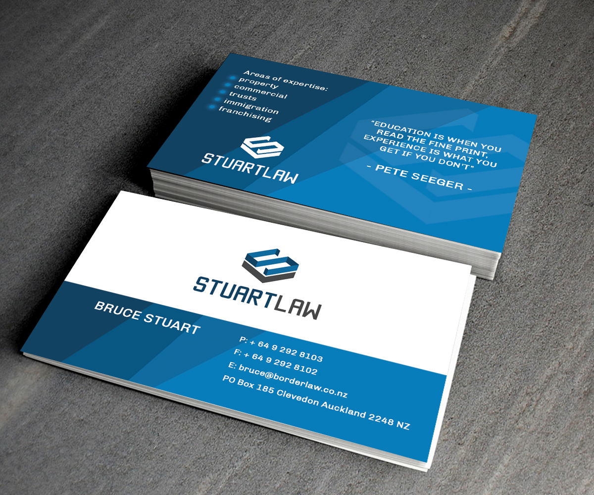 Professional, Masculine, Business Business Card Design for a Company ...