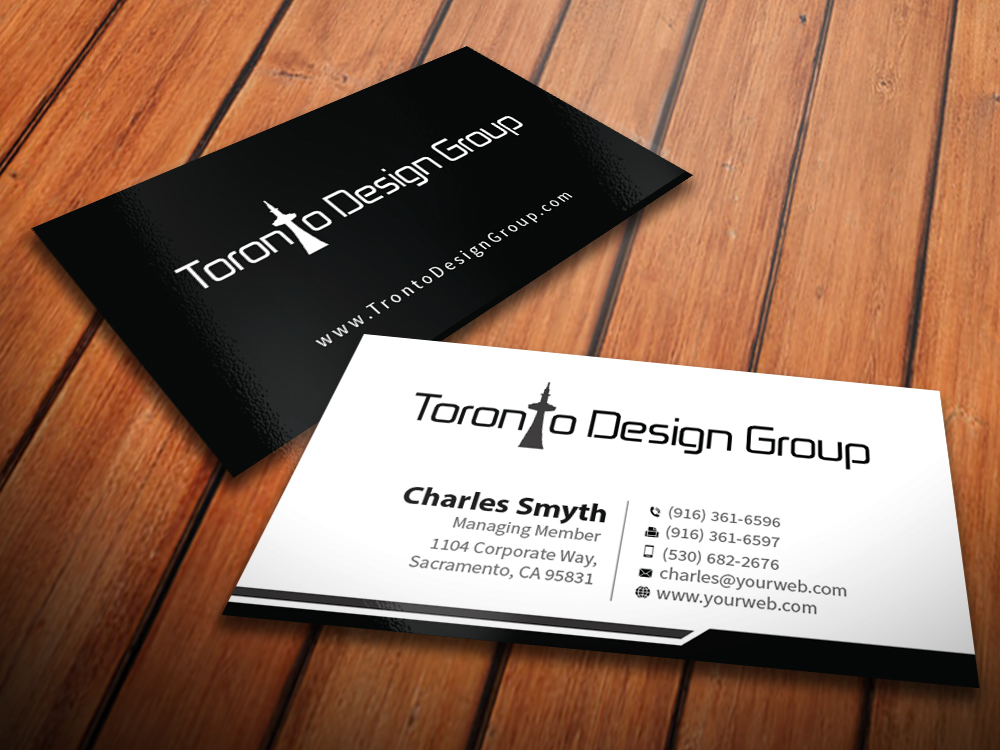 Business Business Card Design for a Company by MediaProductionArt ...