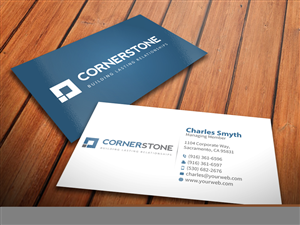 Business Card Design By Mediaproductionart For Cornerstone Computing 5286263