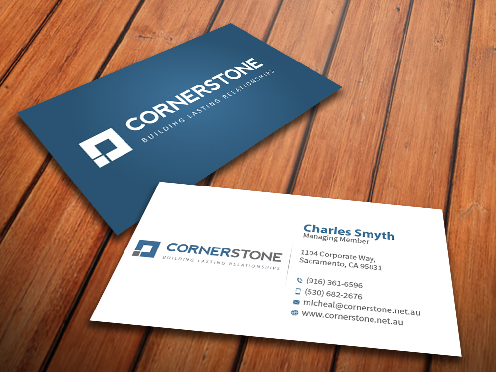 Software Business Card Design for Cornerstone Computing by ...