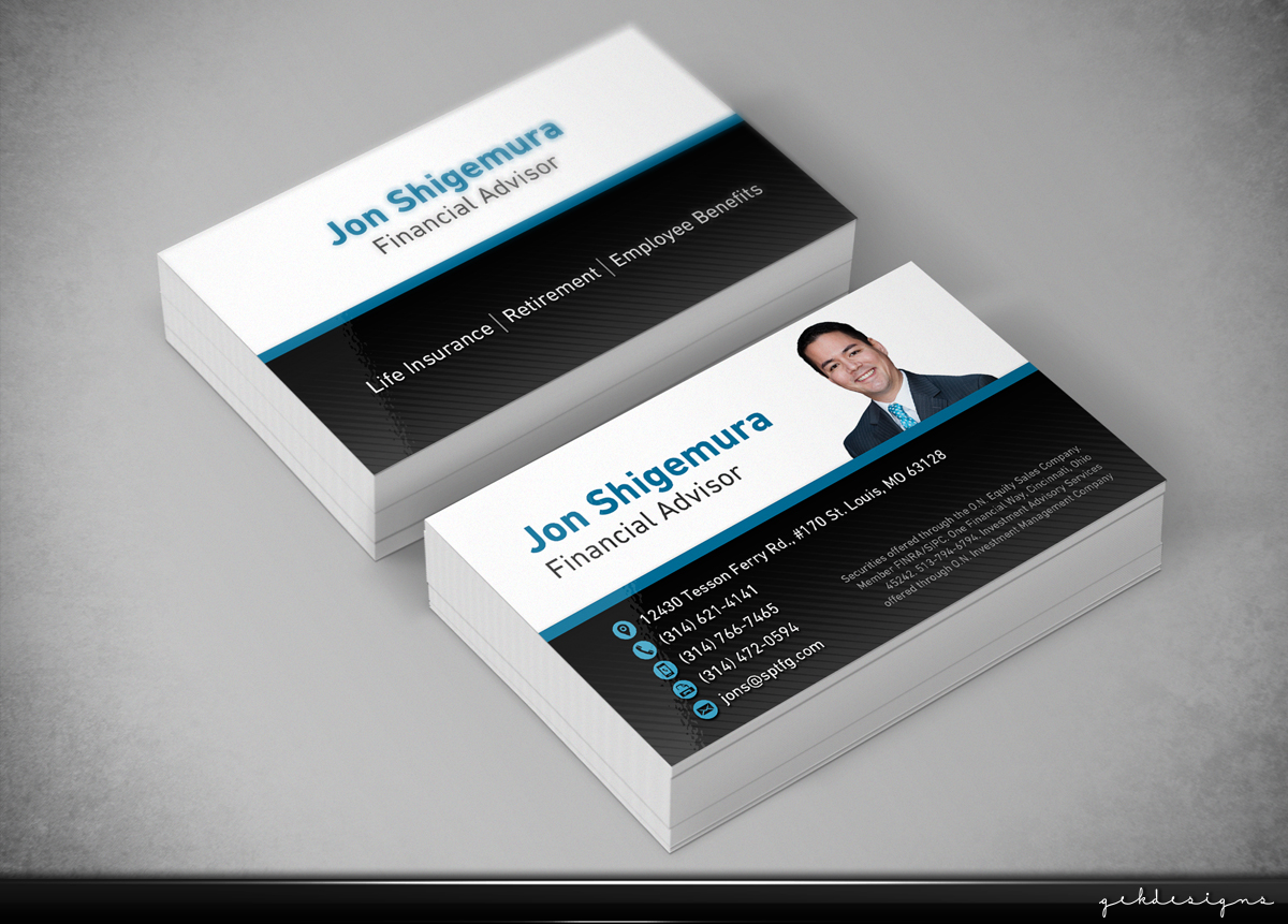 Bold modern business business card design for a company by gek bold modern business business card design for a company in united states design 5276453 colourmoves Gallery