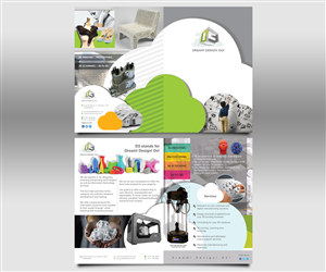 Brochure Design by soulafella - 3D printers services needs a brochure