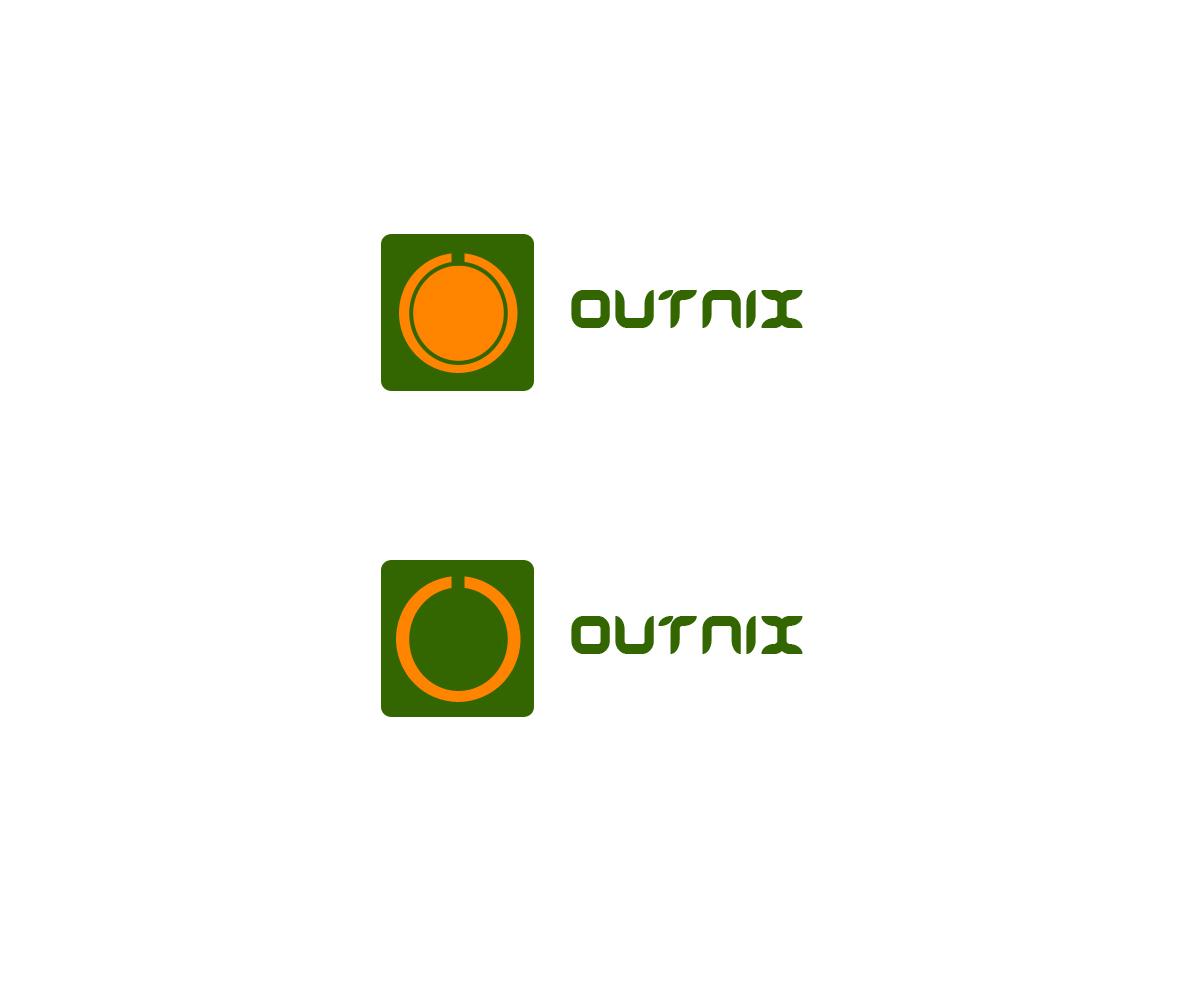logo design for outnix by r o n i e design 5285180