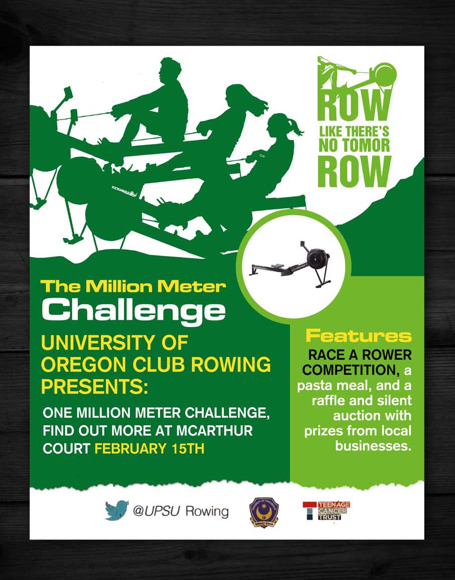 Poster design challenge - Poster Design Design 5315006 Submitted To University Of Oregon Club Rowing Team