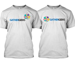T-shirt Design by polj designs - Gather Geeks T-Shirt