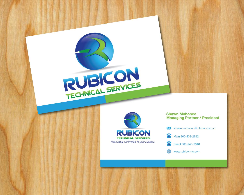 It Company Business Card Design for Mahonec Enterprises by Cherisse ...