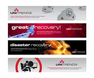 banner ad design for unitrends by plimsoll line - Banner Design Ideas