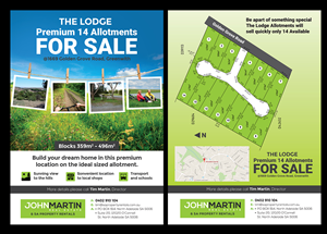 land for sale flyer