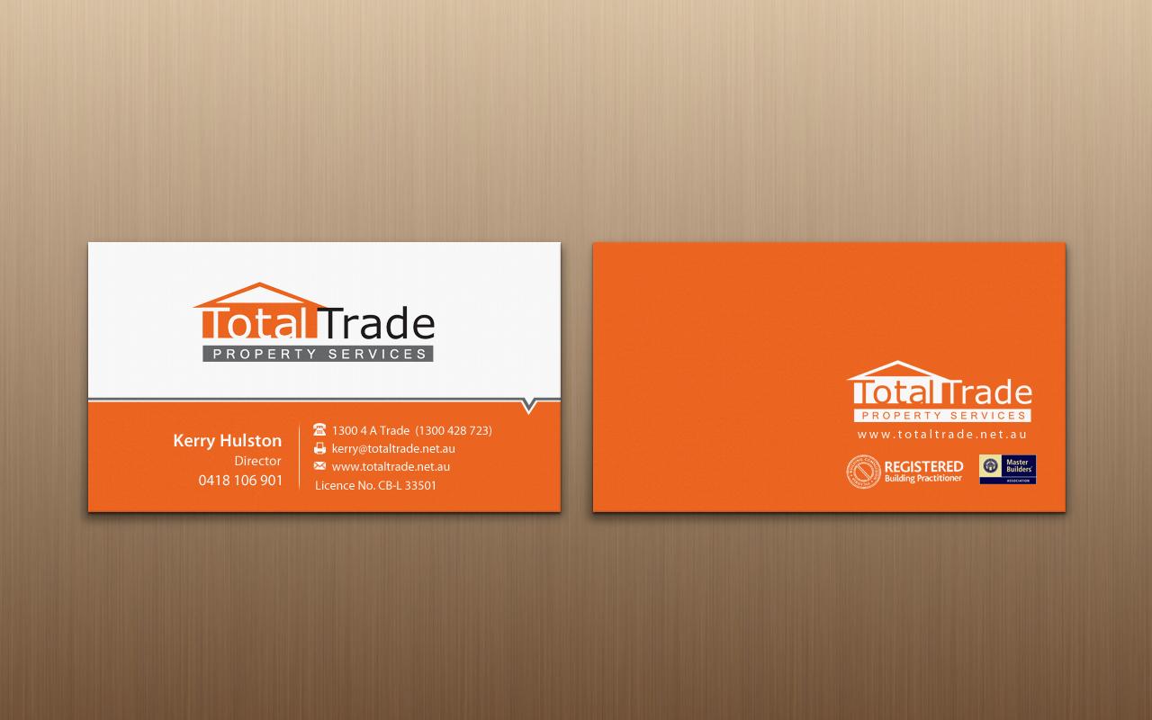 Elegant, Playful, Property Maintenance Business Card Design for a ...