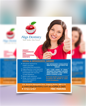 Dental Flyer Design Galleries for Inspiration