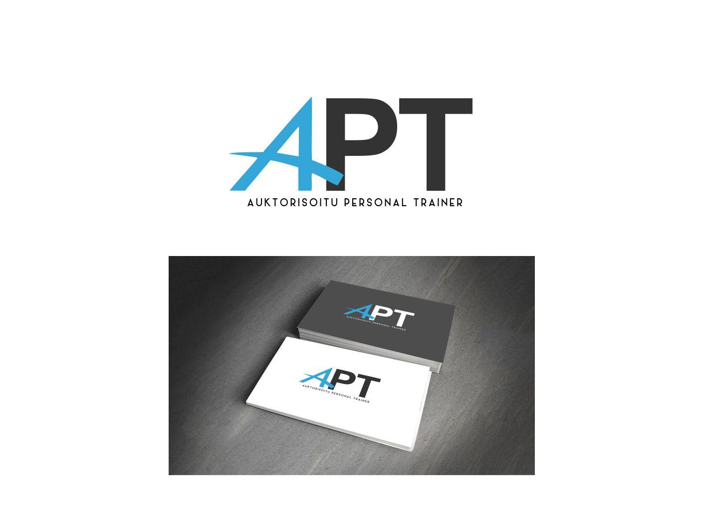 personal trainer logo design for auktorisoitu personal