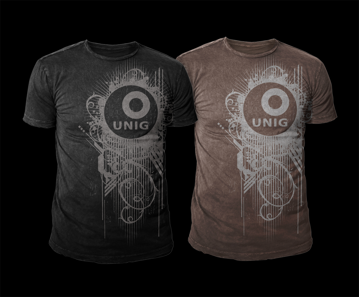 Elegant playful online t shirt design for a company by d for Make photo t shirt online