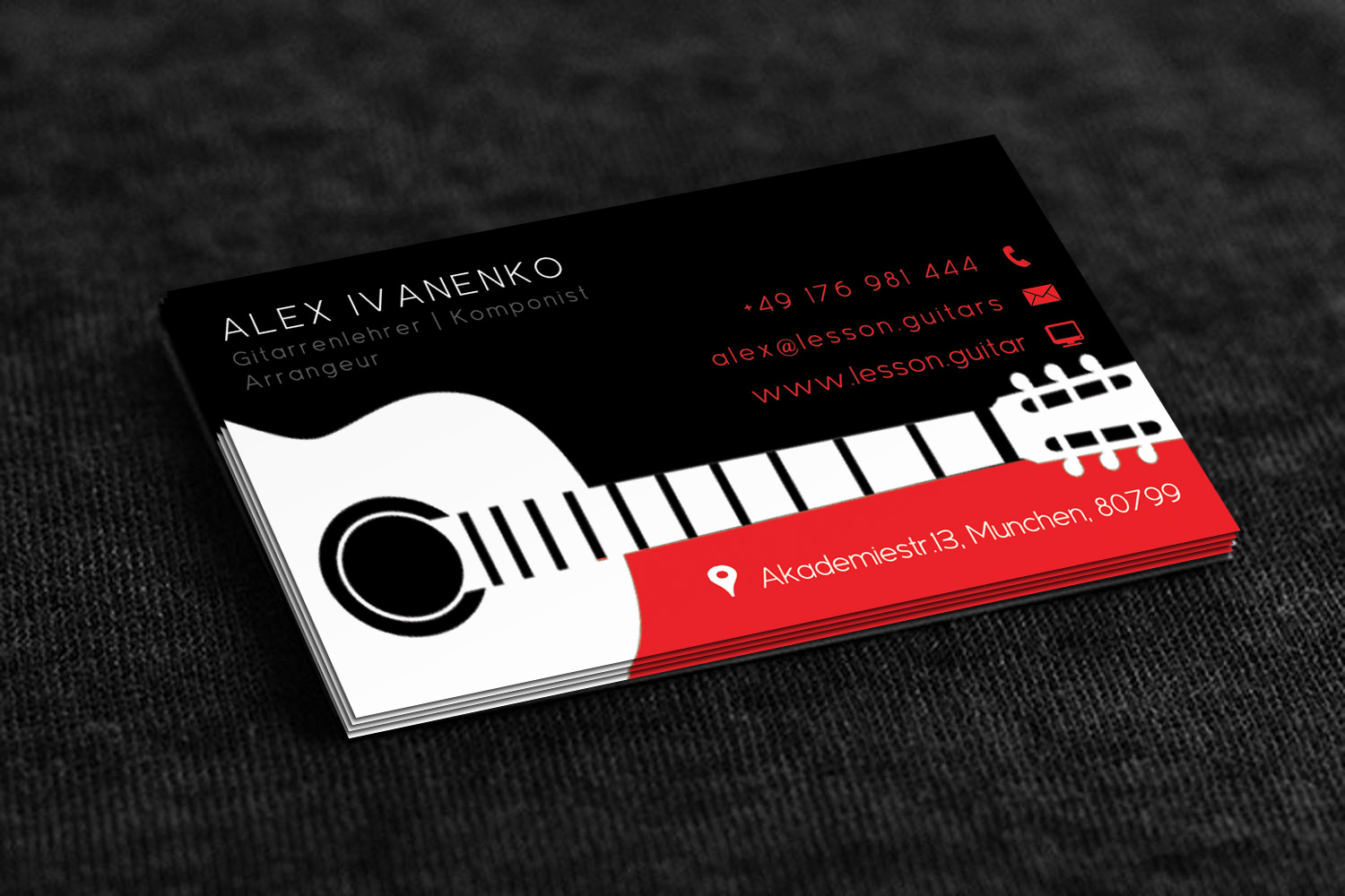 Modern, Upmarket, Teacher Business Card Design for a Company by ...